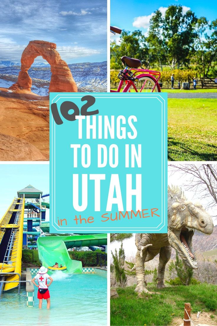 102 Family Things to do in Utah in the Summer | Big Adventure Fam #summerbucketlists