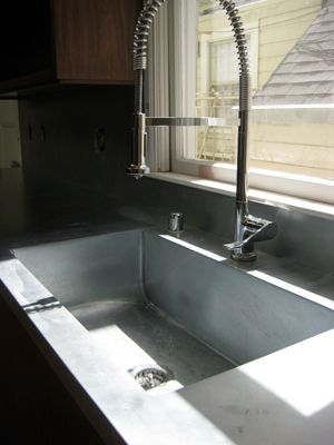 pin by erin maile o keefe on kitchen zinc countertops sinks for sale countertops on kitchen zinc id=94062