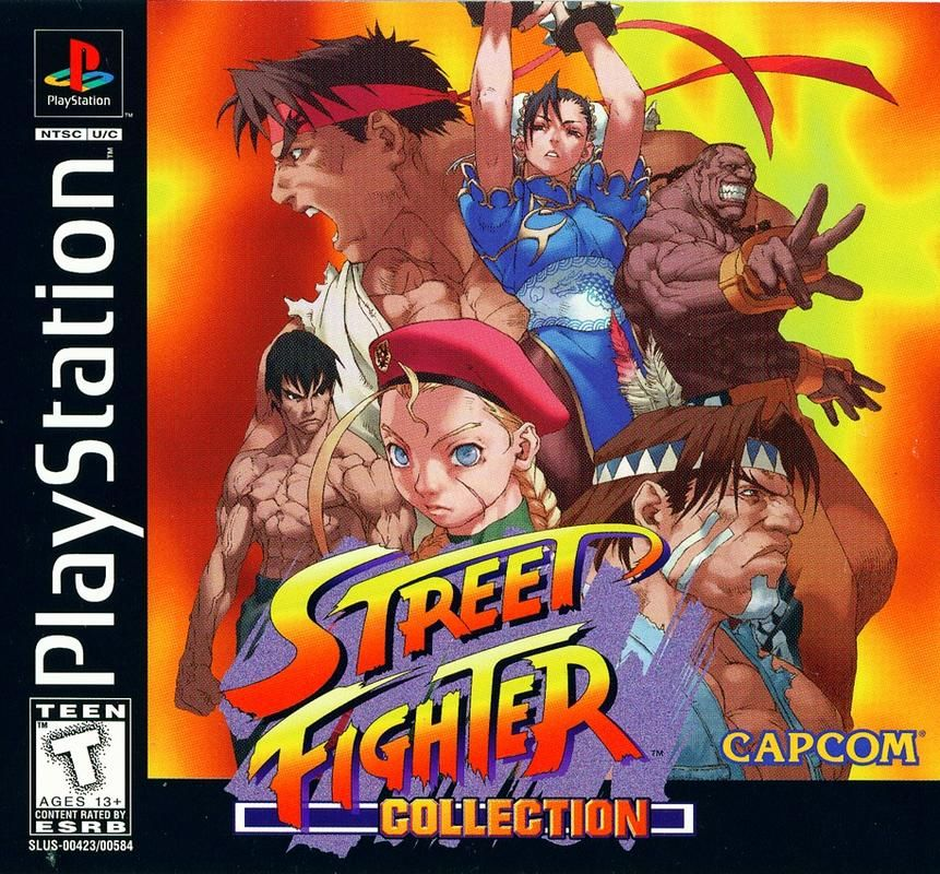 Street Fighter Collection 2 Playstation 1