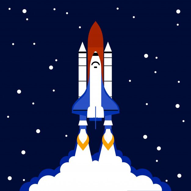 Download Launch Concept Space Rocket Background For Free