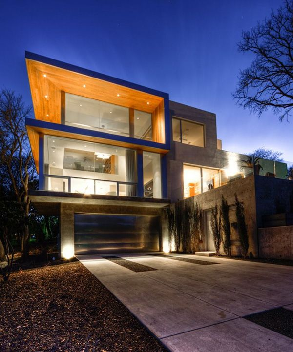 Beautiful Contemporary Homes - Passive Solar House in Texas ...