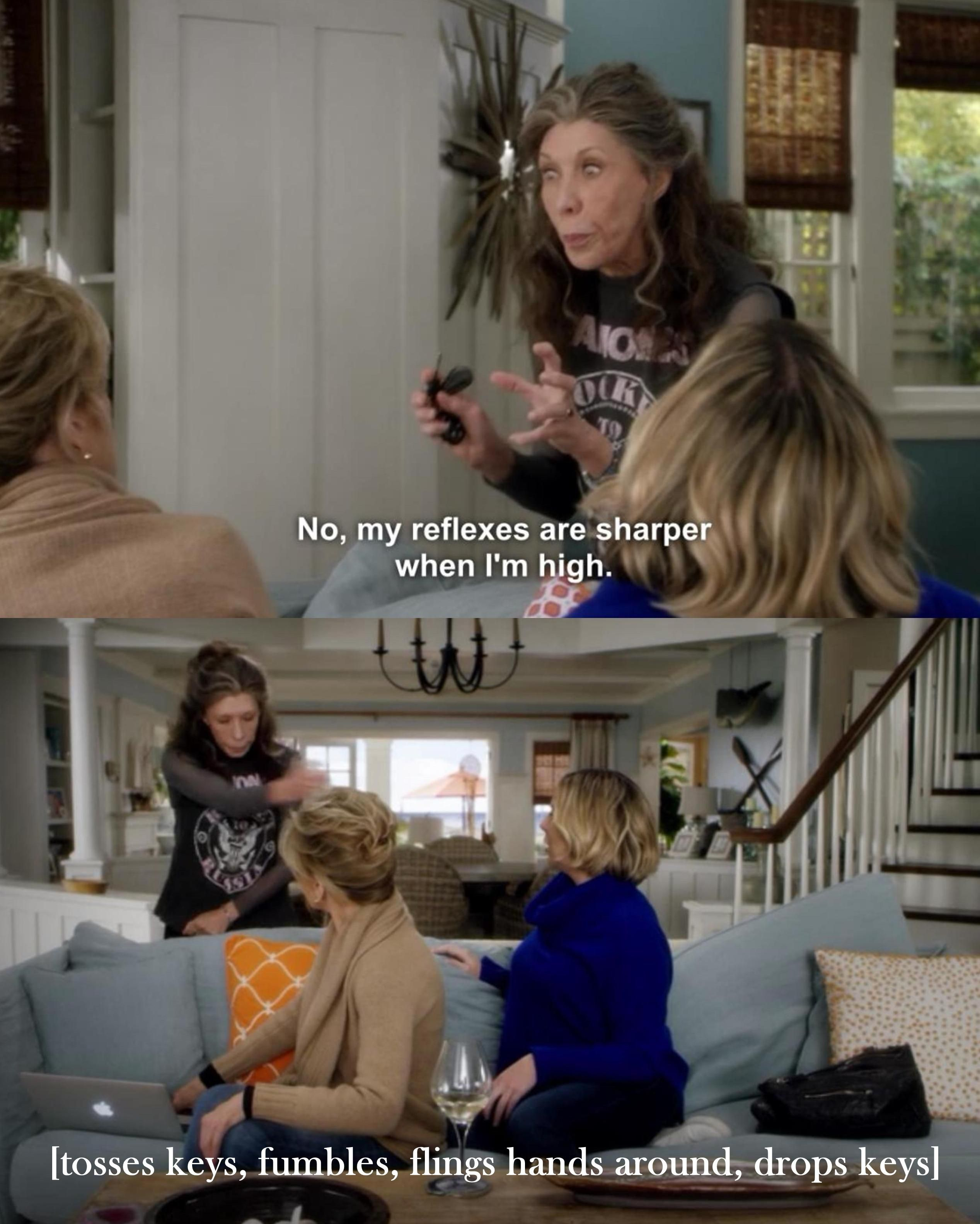 Grace And Frankie Quotes : grace, frankie, quotes, Freaking, Tomlin., You're, Watching, Grace, Frankie,, Should, Series, Ever,, Women, Humor