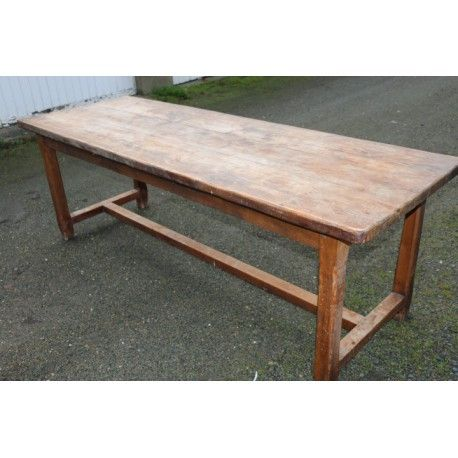 Table ferme chêne 10 personnes #table #de #ferme #chêne #vintage