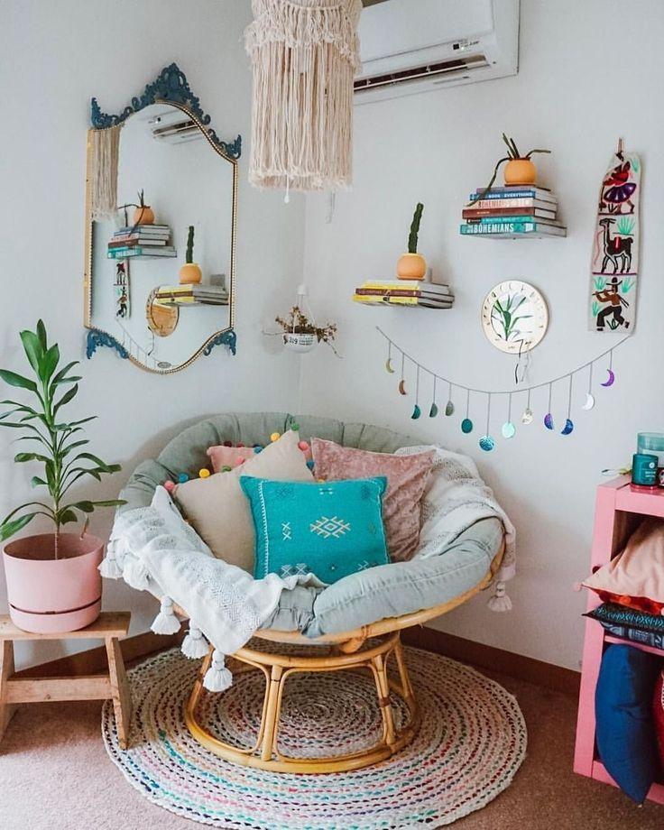 Inspirierende Dekorationsideen für den Lesesaal, die Sie gemütlich machen