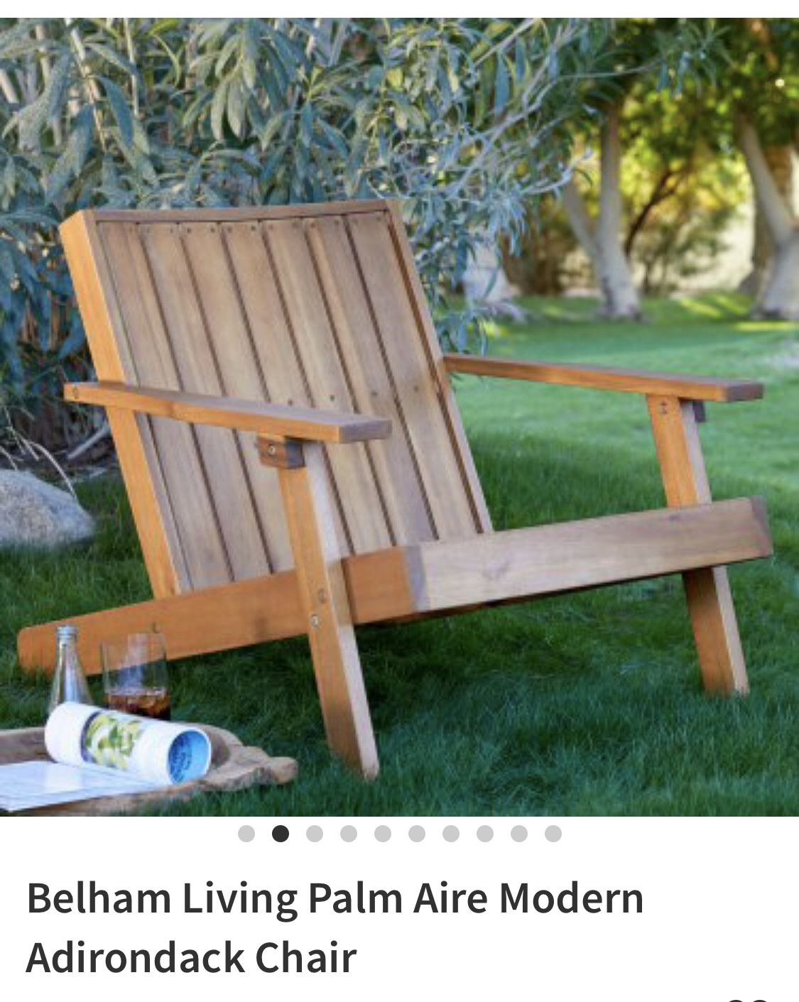 Modern Adirondack Chair Image By Lillbow On O U T S I D E