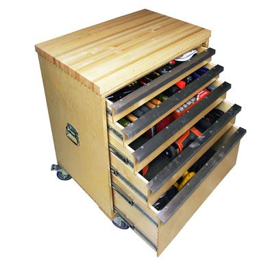 Build A Deluxe Tool Storage Cabinet Extreme How To Tool