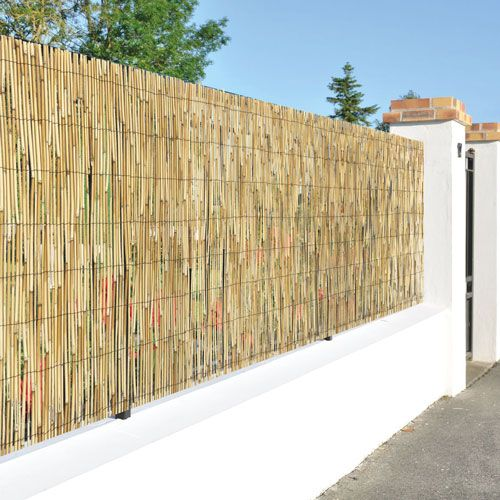 Canisse CERISY roseau naturel 400g/m² | Brise vue, canisse ...