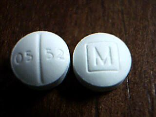 pill finder M box 0552 | Pill ID for 05/52 on one side and M on the other |  Pharmer.org