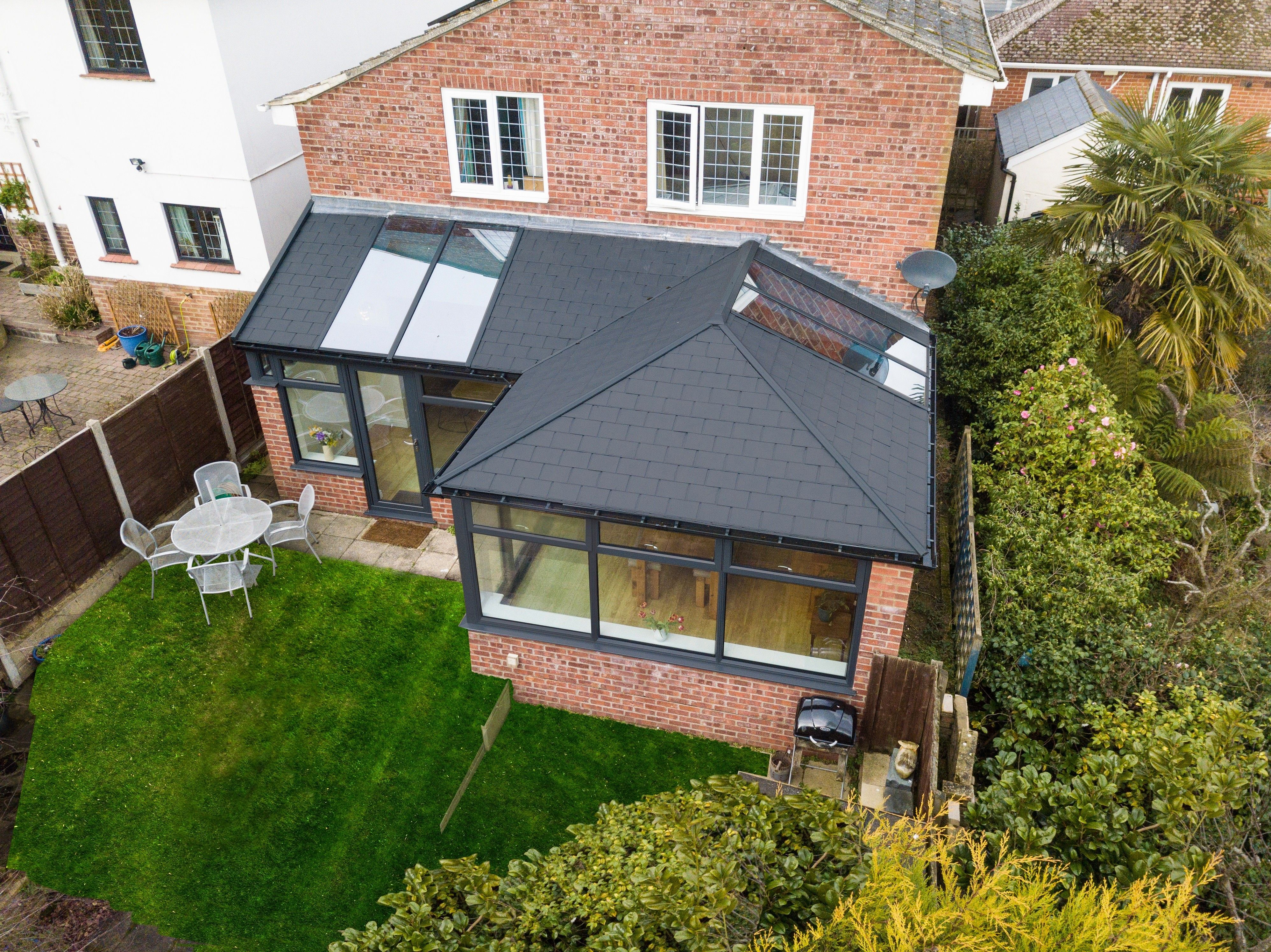 Tiled Conservatory Roof Ultraroof Conservatory Uk Tiled Conservatory Roof Conservatory Roof Conservatory Prices