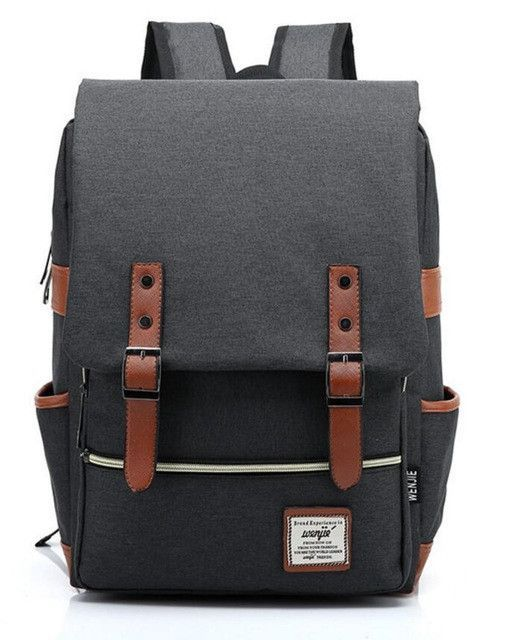 Fashion Vintage Backpack Women Men Youth School Bag Big Male Canvas  Backpacks for Teenager Girls Feminine Backpack sac a dos 1fd16fc0c5fdd