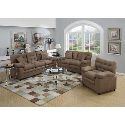 Cheap 3 Piece Living Room Set Light Grey Leather Sofa Ideas Red Barrel Studio Hayleigh Products Loveseat Chair Upholstery Brown