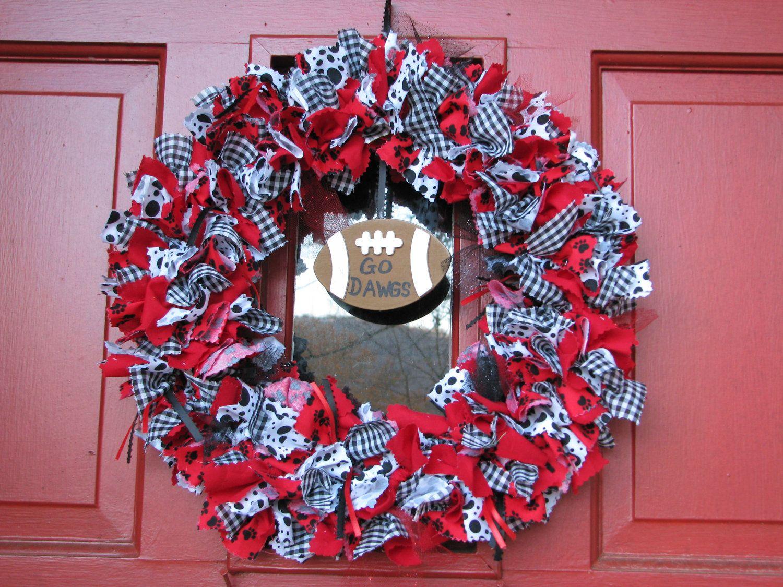 Bulldog Wreath!! <3     @Charla Walker