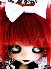 Cerise (Laura [Puppet]) Tags: doll mohair blythe prima custom dolly takara saffy