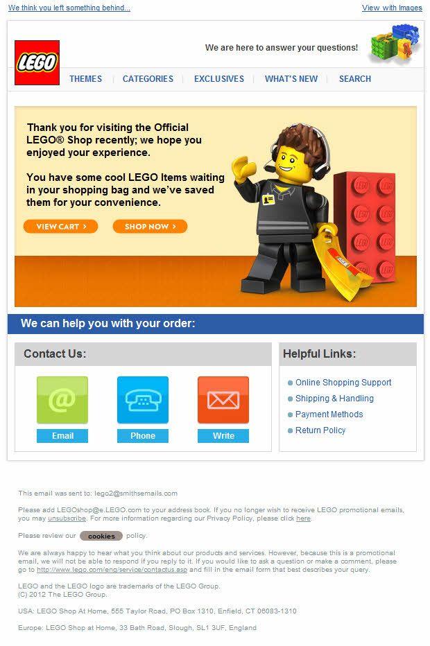LEGO Newsletter   The Best E-mail Designs   Pinterest   Lego