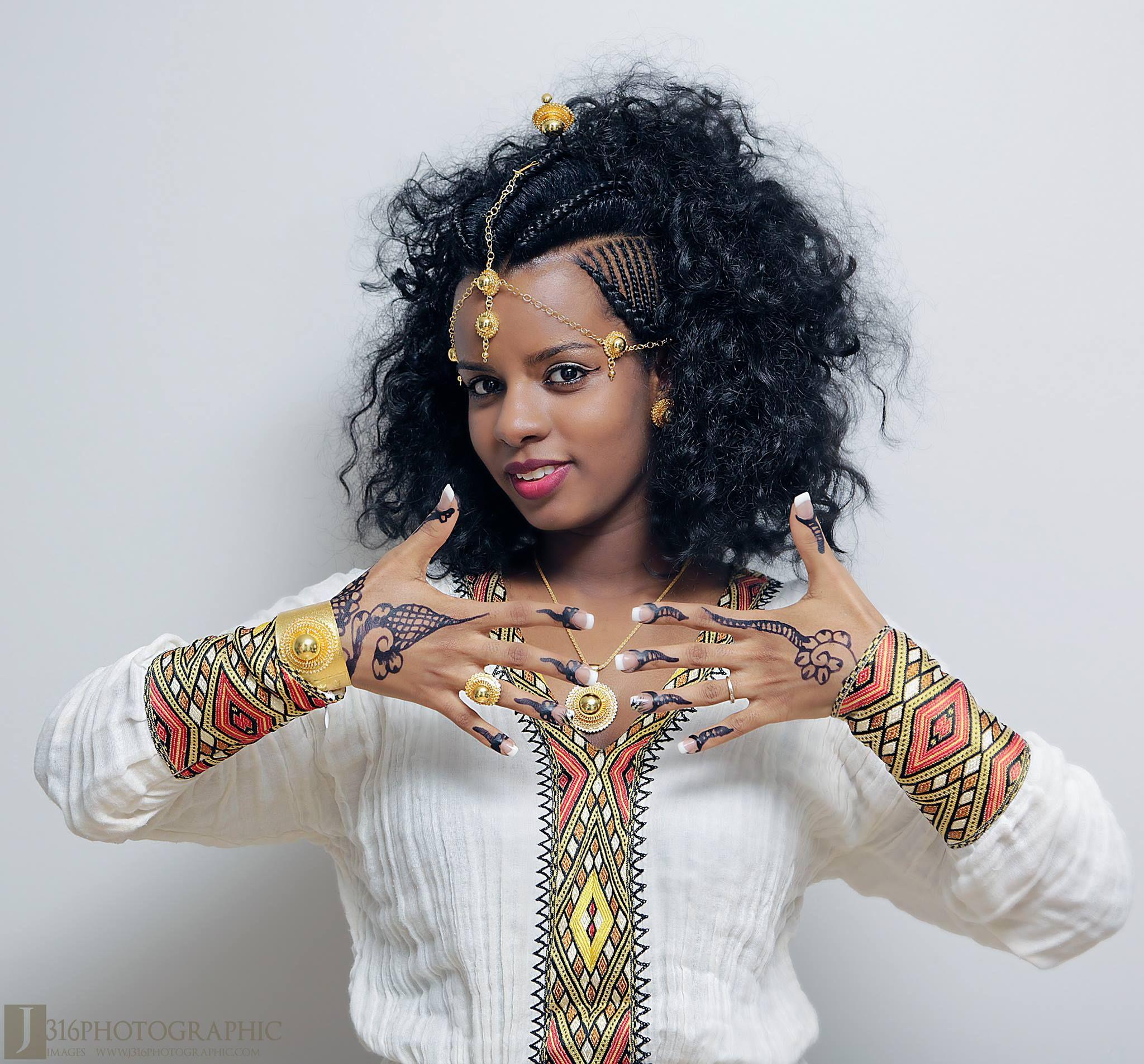 Ethiopian Women Image By Gherren On Habesha Dresses