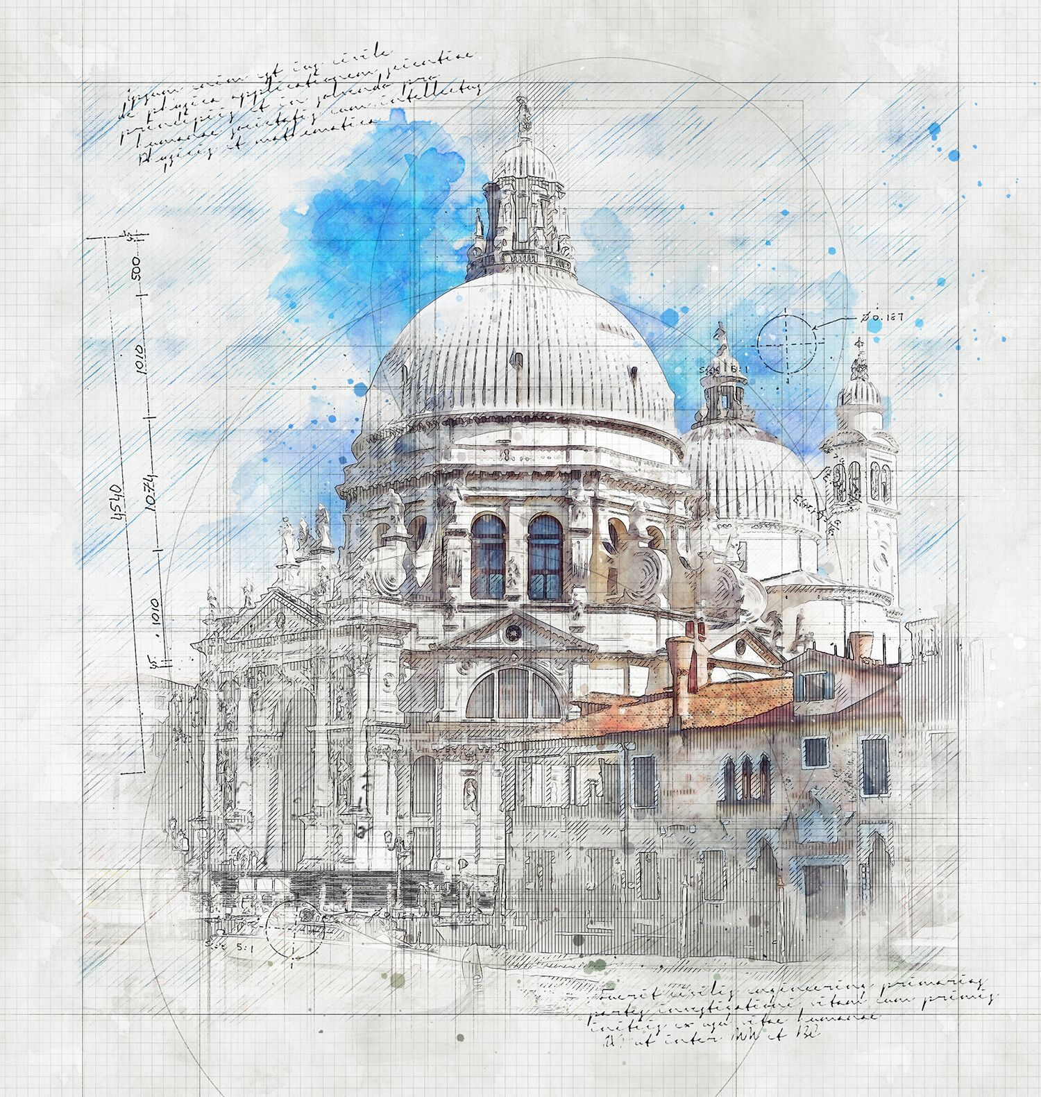 Animated Architecture Sketch And Blueprint Photoshop Action Architecture Sketch Photoshop Actions Architecture Logo