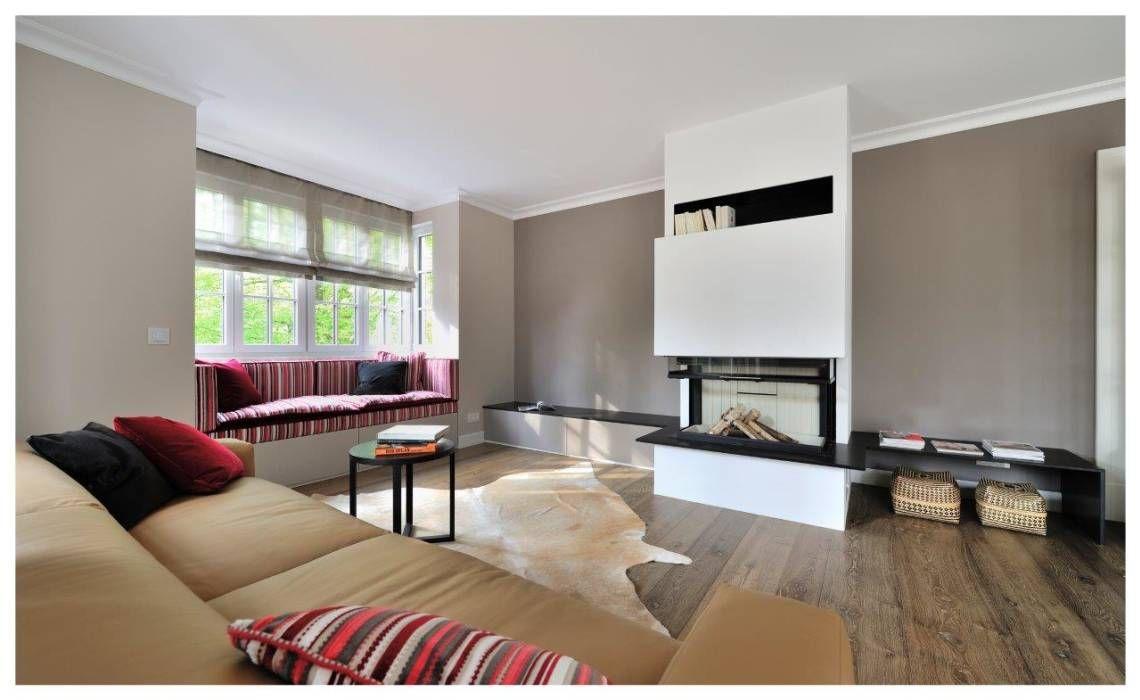 Wohnzimmer des modernen interieurs des hauses wohnideen interior design einrichtungsideen u bilder  interiors