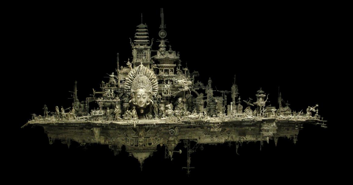 Kris Kuksi Sculpture 34