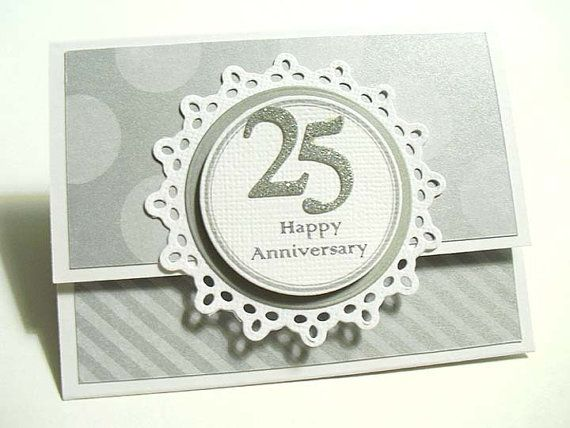 Happy 25th Anniversary Gift Card Holder By Stephaniematsunaka 3 00 Gift Card Holder Wedding Anniversary Cards Happy 25th Anniversary