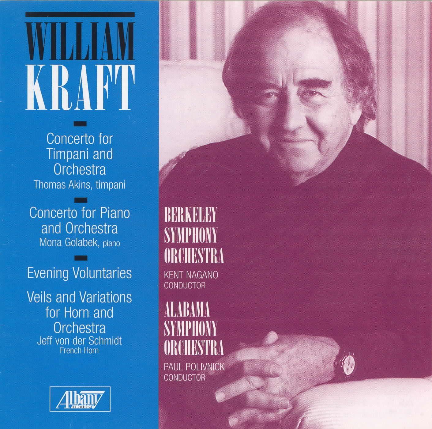 William Kraft - Orchestral Works