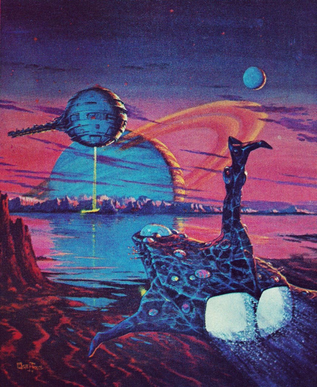 Image Result For 1970s Science Fiction Art Scifi In 2019