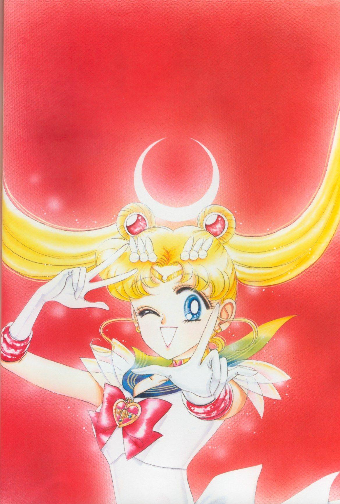 From Volume 3 Of Naoko Takeuchi S Sailor Moon Art Books