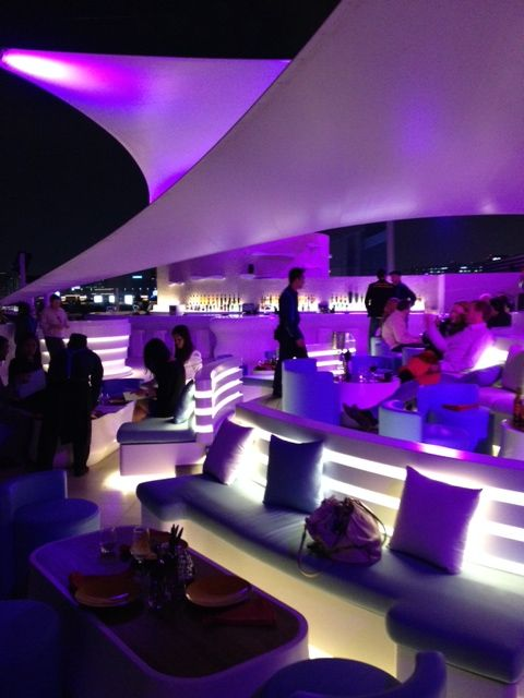 Enjoying Drinks At Cielo Sky Lounge The Venue