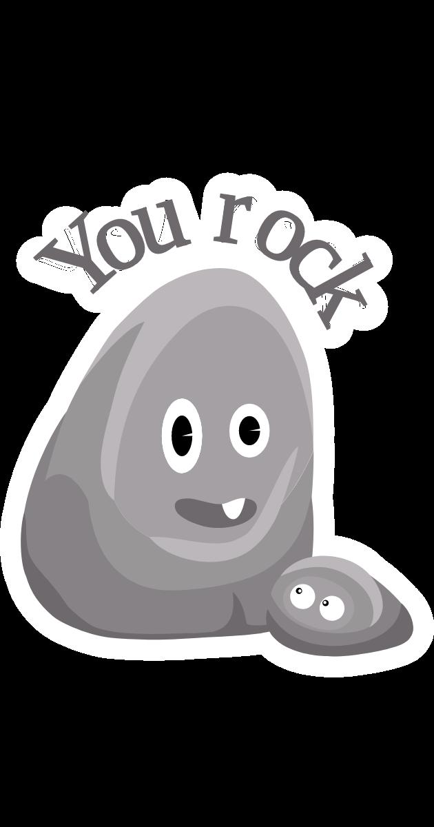 Rock You Rock Sticker Cartoon Stickers You Rock Popular Cartoons