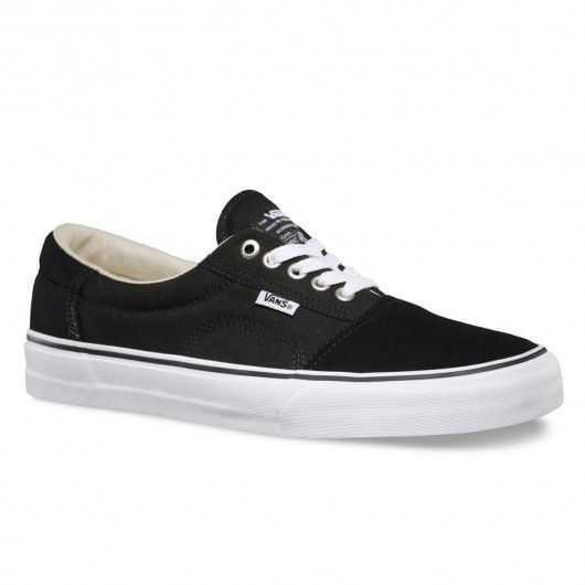 VANS Rowley Solos pro skate shoes black white 75 78482b39e53