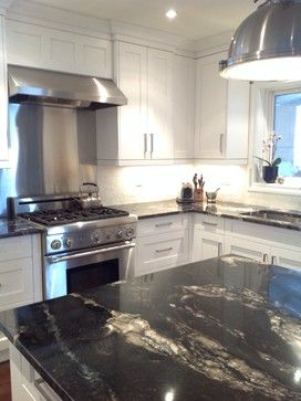Titanium Granite Countertop Design Ideas, Pictures, Remodel and ...