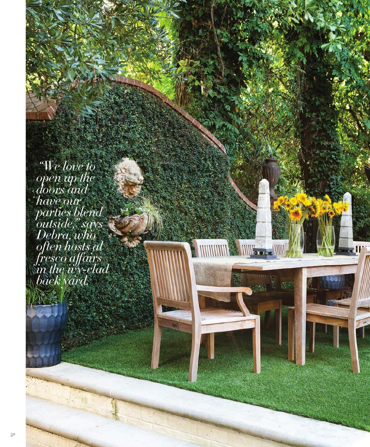 Atlanta Homes & Lifestyles March 2014 issue Outdoor