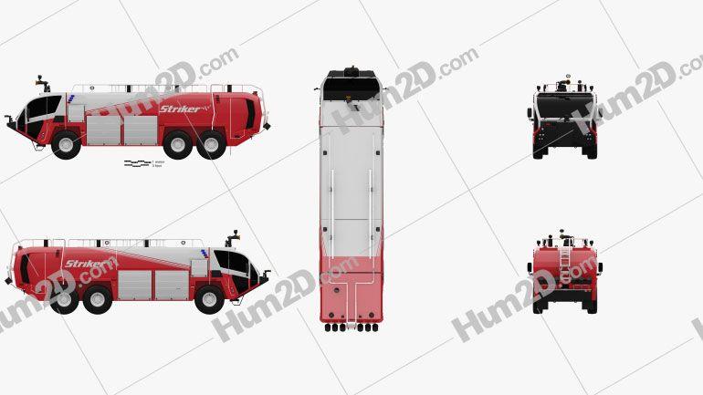 Oshkosh Striker 3000 Fire Truck 2010 Clipart Fire Trucks Clip Art Oshkosh