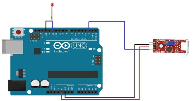 Reed Switch Interfacing With Arduino With Images Arduino