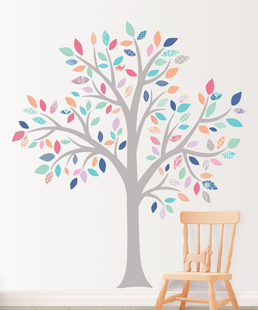 My Cherie Tree Super Wall Art Kit on #zulily today! $44 For the empty wall by the door?
