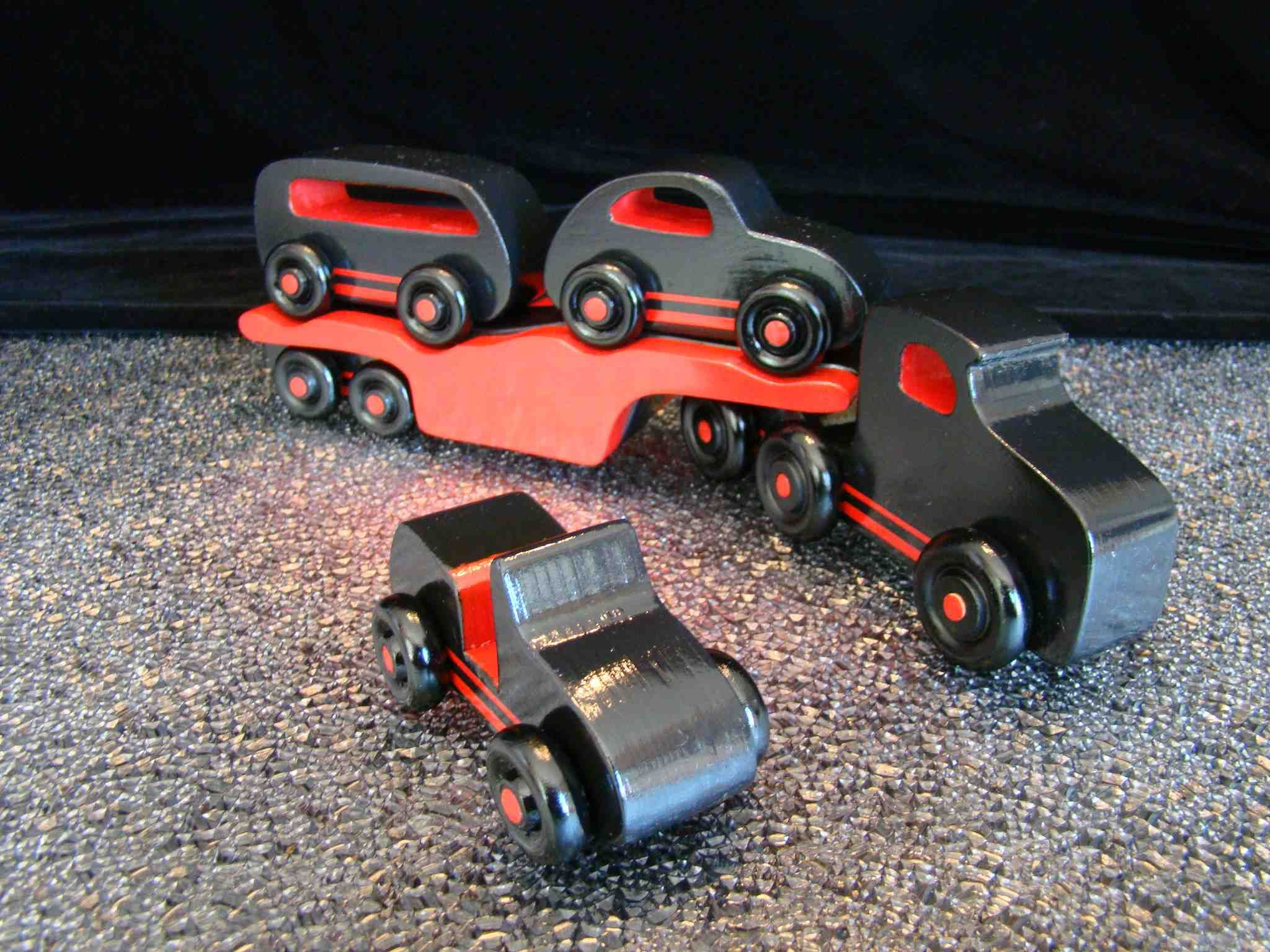 Handmade Wooden Toy Cars And Trucks Quick N Easy Vw Car Carrier