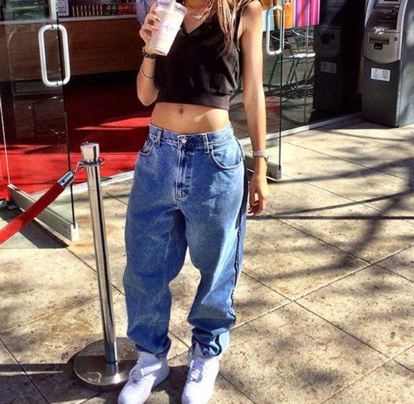 jeans zendaya baggy jeans shirt baggy pants denim old school
