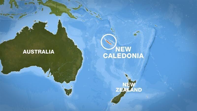 New Caledonia Location