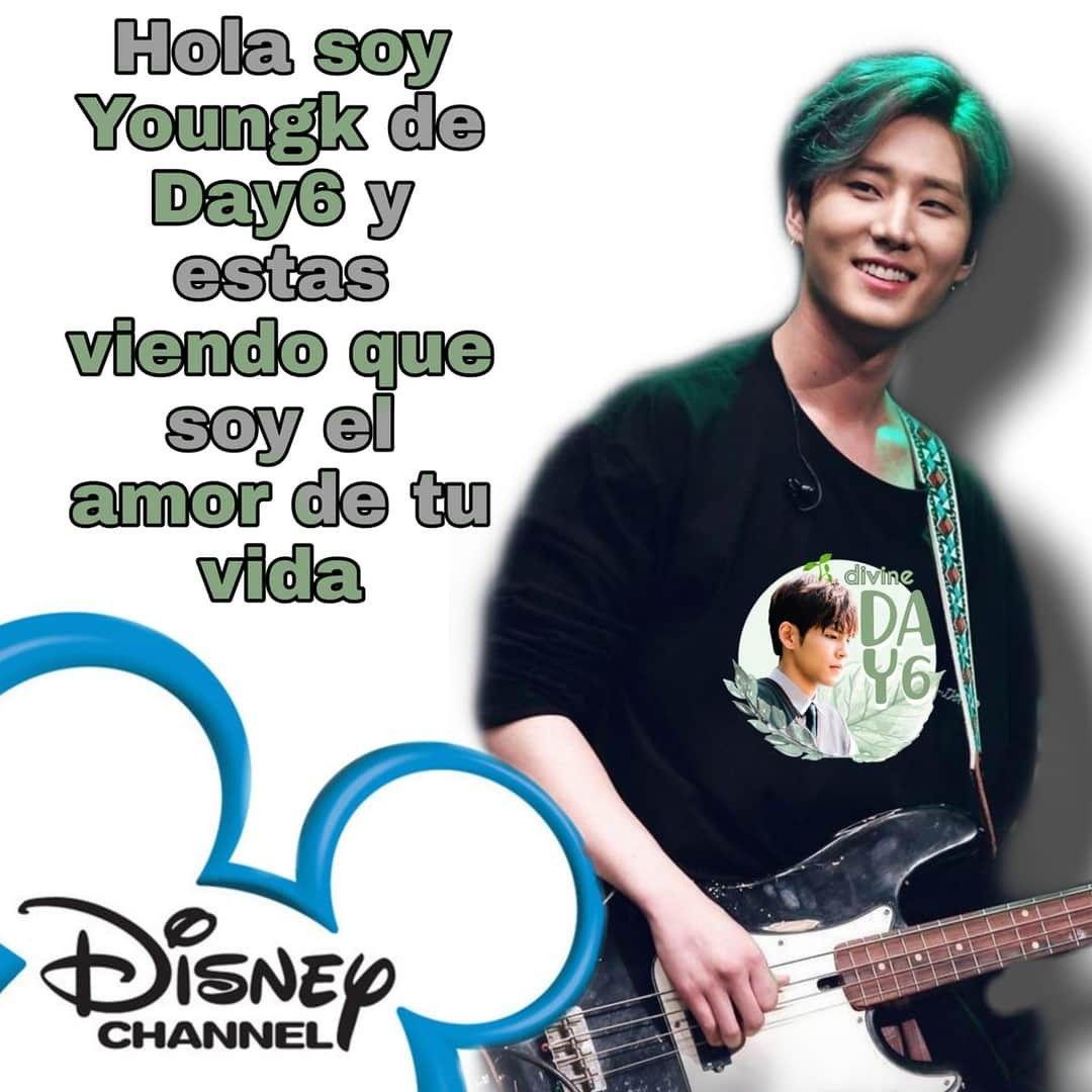 Pin De Ren Uwu En Memes Day6 Disney Channel Amor De Mi Vida Vida