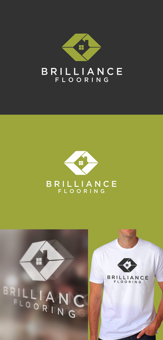 "Create a new logo for a high end flooring company ""Brilliance Flooring by Merub"