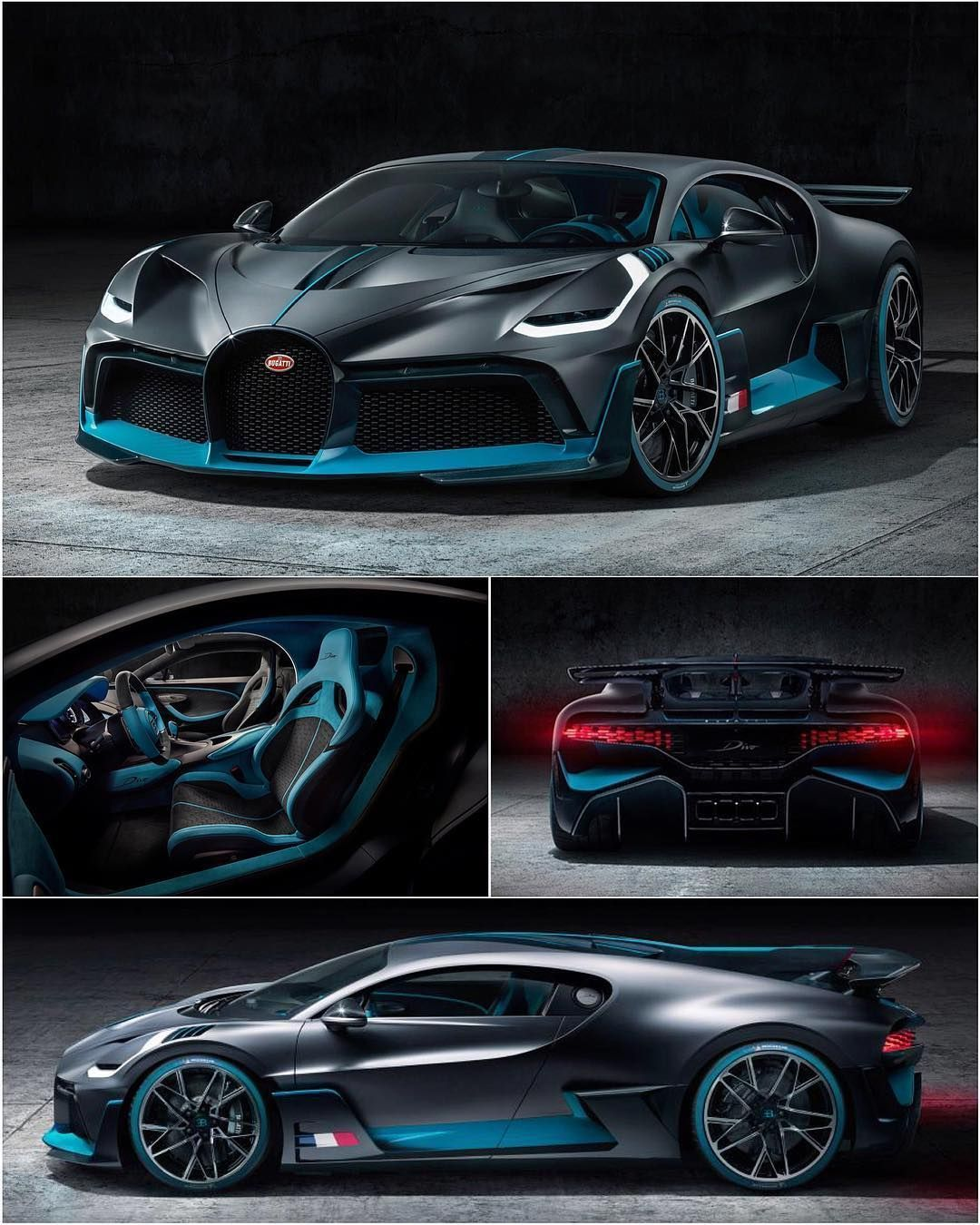 Bugatti Sports Car: The Fastest Cars In The World. Sporty Car