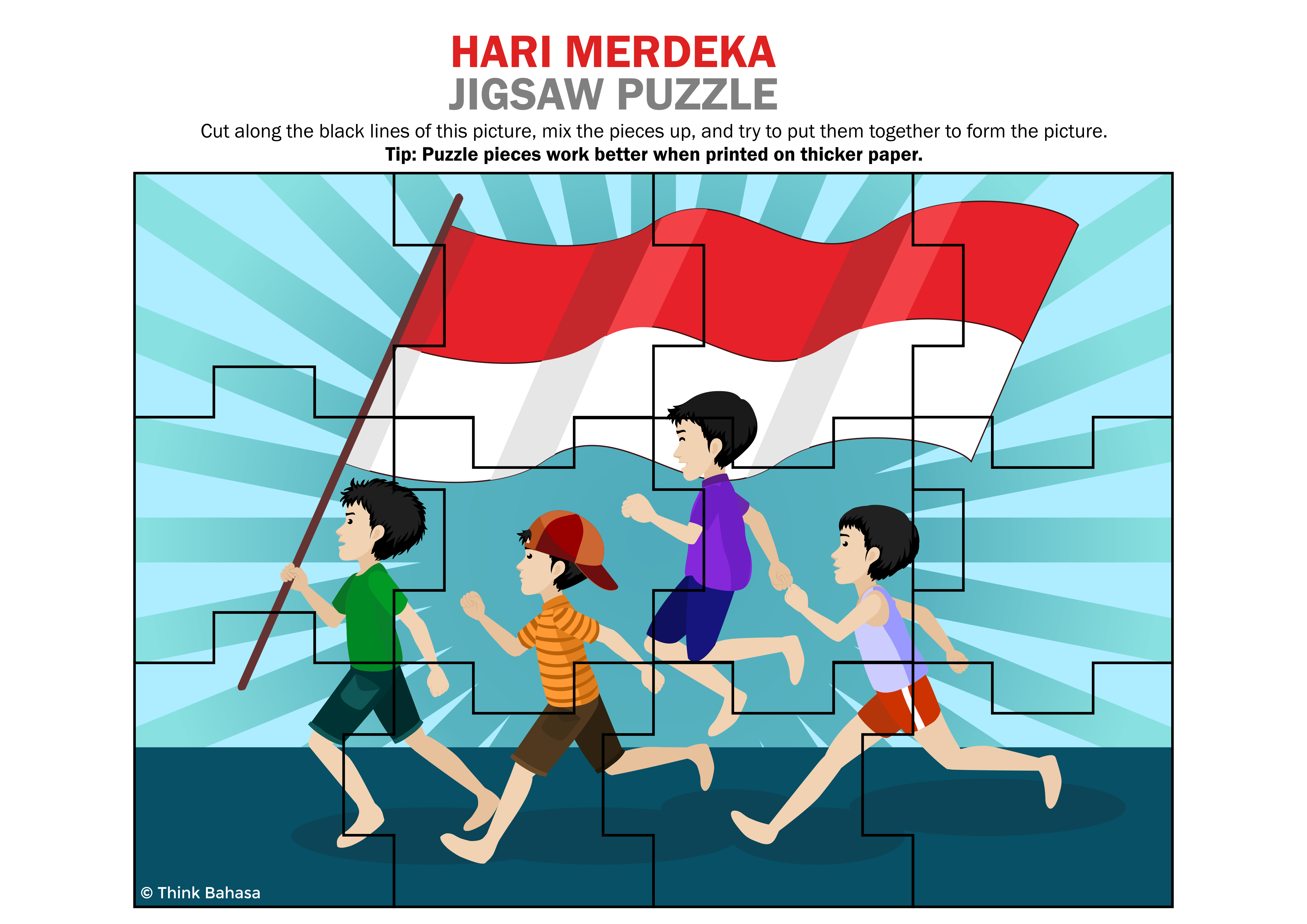 Indonesian Independence Day Classroom Activity Indonesianflag Merdeka Indonesian Independence Indonesian Flag Indonesian Language [ 3307 x 4677 Pixel ]