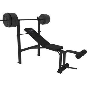 Walmart Cap Barbell Deluxe Bench W 100 Pound Weight Set Barbell Workout Weight Bench Set Bench Workout
