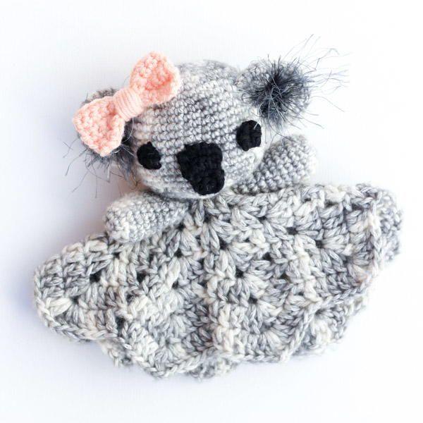 Cuddly Crochet Koala Baby Shower Gift Idea | Manta, Quiero y Bebe