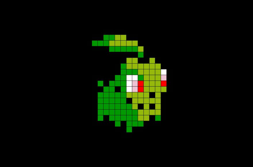 Pokemon Chikorita Pixel Art Pixel Art Templates Pixel Art Pokemon Anime Pixel Art