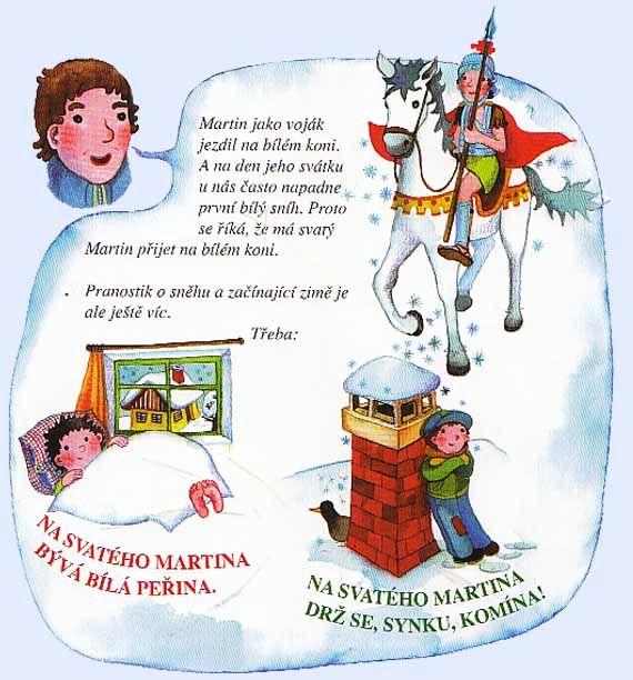 o sv. Martinovi | Martin, Winter crafts, Activities for kids