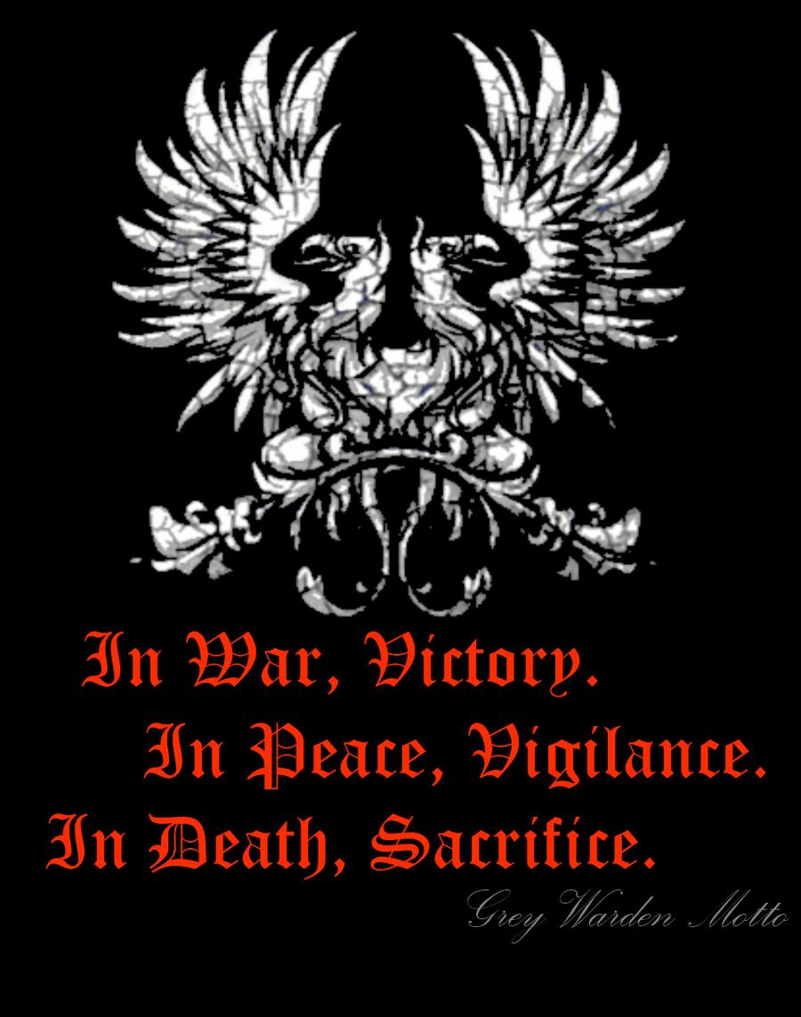 grey warden oath - Google Search