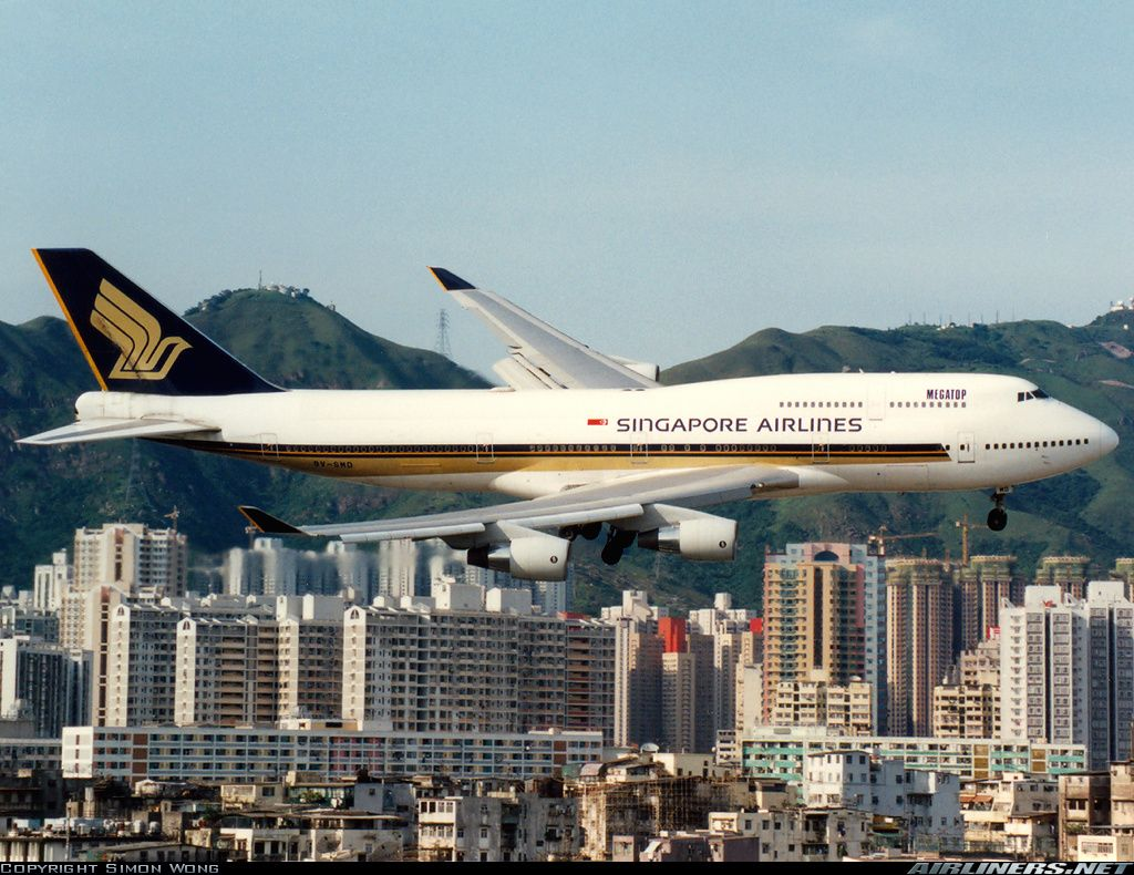 Boeing 747 412 Singapore Airlines Aviation Photo 1032914 Airliners Net Singapore Airlines Aviation Boeing 747