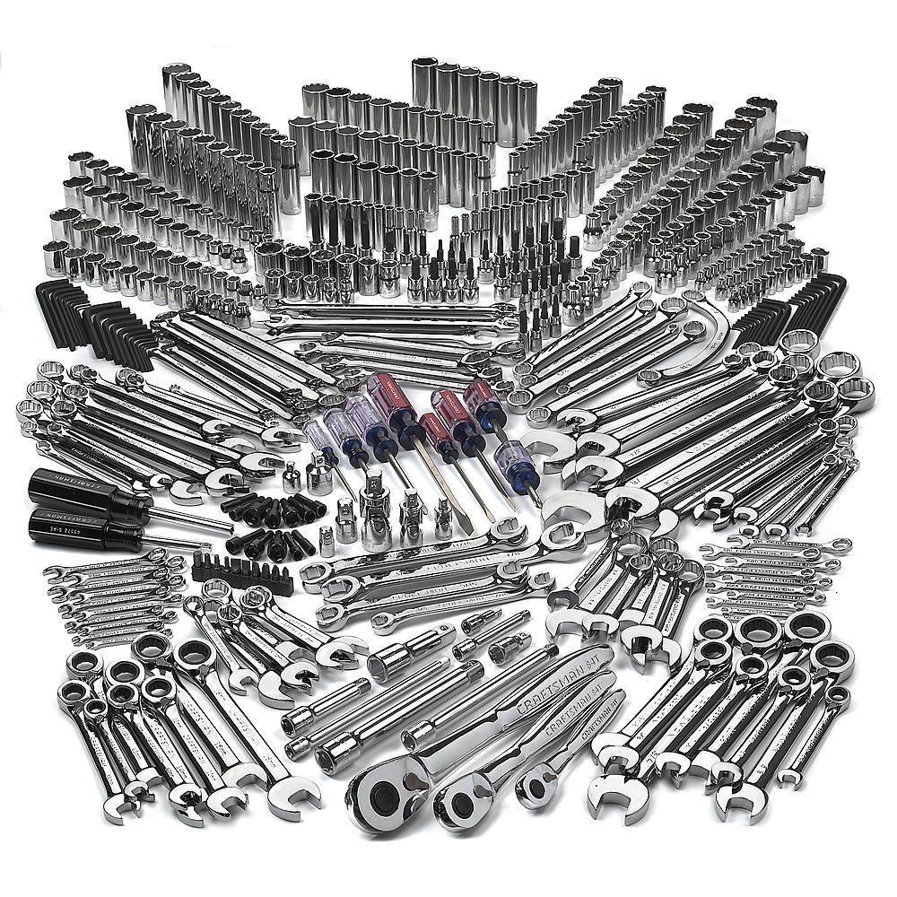 500 piece mechanics tool