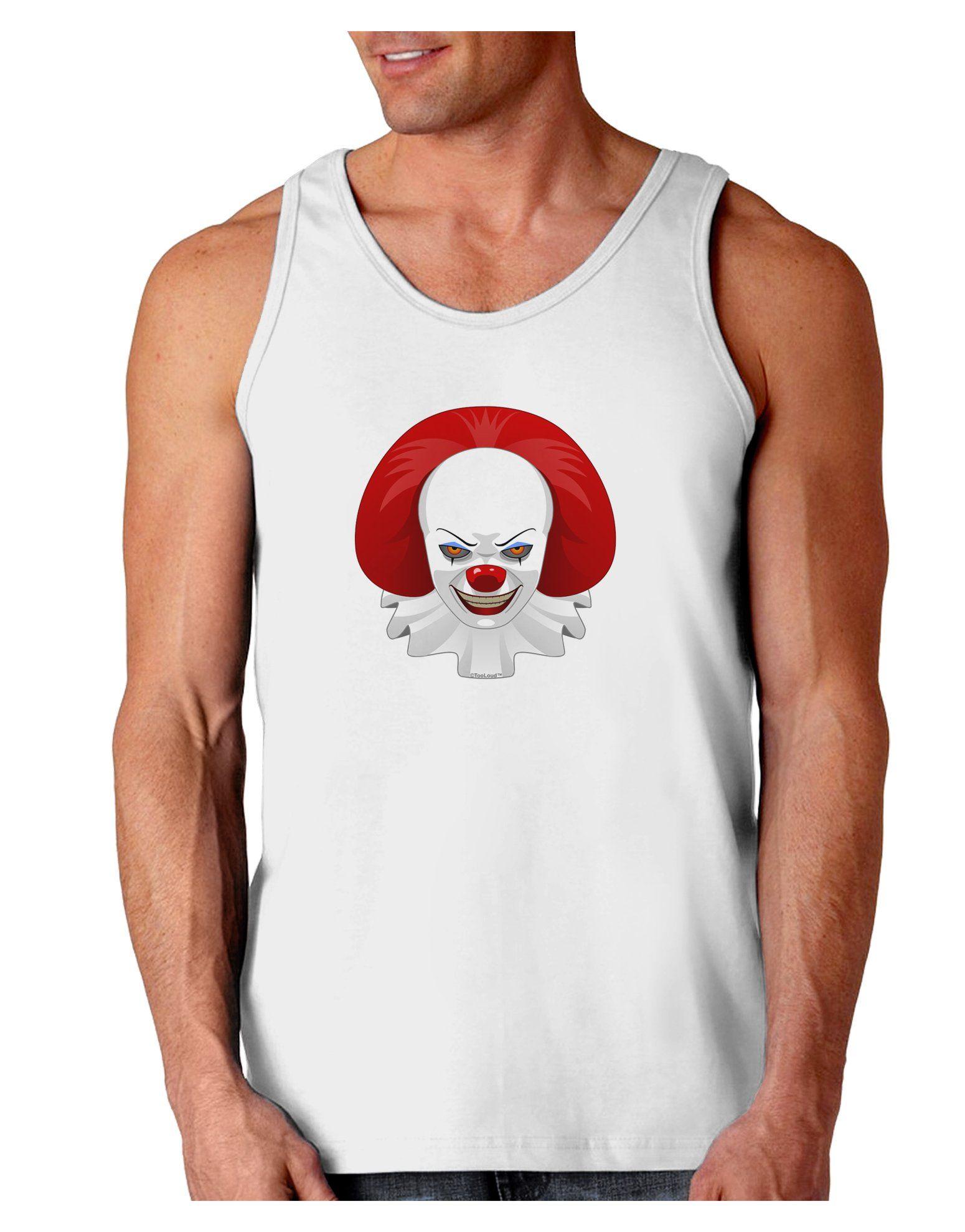 Scary Clown Face 2 - Halloween Loose Tank Top