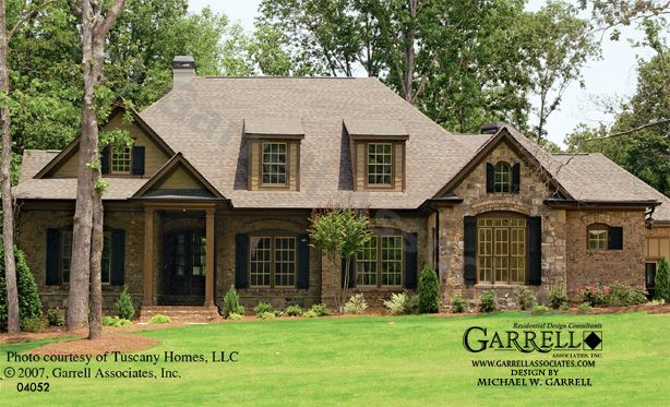 garrell associates, inc. franciscan house plan # 04052, front